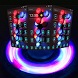 3D Neon Fidget Spinner Theme by New Theme World