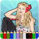 How To Color Jojo Siwa by KidsColoringGames91