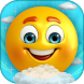 Emoji Sliding: jumping down by Flora Pubisher