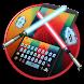 Star Sword Keyboard Theme by Super Cool Keyboard Theme