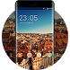 Cityscape Launcher Theme Phone Wallpaper by Mobo Theme Apps Team