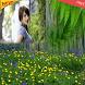 Spring Nature Photo Frame by Tocus App