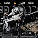 Cool sniper rifle keyboard theme by Cool Theme Creator