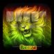 GO Keyboard Neon Reggae Rasta by Keypad Emoji Keyboard Theme Design