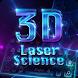 3D laser science keyboard by B-P Theme Design Studio