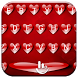 Keyboard Theme V Love Hearts by Luklek