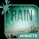 Rain Drops Animated Keyboard