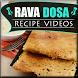 Rava Dosa Recipe by Fast Food Recipe Guru