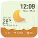 current weather&digital clock by HD Widgets Dev Team