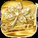 Golden Diamond Leaf