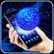 Hologram Tech Globe Launcher by Cool Wallpaper