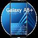 Keyboard for Samsung galaxy A8+