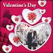 Valentine Day Photo Frames by Raptas Apps