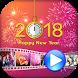 New Year Photo Video Maker 2018