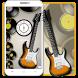 Bass guitar disc theme by cool theme designer