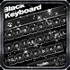 Classic Black Keyboard Theme by Keyboard Dreamer