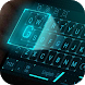 Hologram Star Tech Keyboard Theme by Super Cool Keyboard Theme