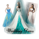 wedding dress design by AuraApp