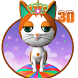 3D Lovely Cute Cat Theme by Elegant Theme