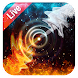 Live Wallpaper Background Ice and Fire by Weather Widget Theme Dev Team