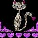 Purple Leopard Kitty Theme by New Theme World