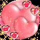 pink love theme shining wallpaper by Rose theme