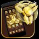 Fidget Spinner Golden Luxury Launcher Theme by Keyboard Theme Creator