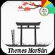 Sakura Orange : Xperia Theme by Themes MorSán