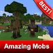 Amazing Mobs Creatures Mod for MCPE by BestMapsAddons