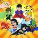 Justice Superhero Coloring Kid by Crayon Shino Coloring