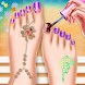 3D Toe Nail Salon Fashion Spa by himanshu shah