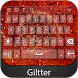 Glitter Keyboard Theme by Styles Keyboard Forever