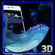 3D Dreamy Neon Whale Theme by Elegant Theme