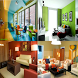 Combination paint color living room ideas
