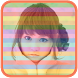 Rainbow Photo Frame by aishapink