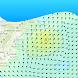 Ocean Wave Height by Severe WX Warn