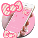 Cute kitty pink bow theme by livewallpaperdesigner2017