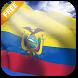 3D Ecuador Flag Live Wallpaper by App4Joy