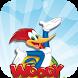 woody super woodpecker Adventure World Run by app screen