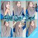 Tutorial Hijab Syar'I Simpel by Woochi Developer