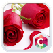 Red Roses CLauncher Theme by CG-Live-Wallpapers