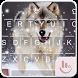 Wild Wolf FREE Keyboard Theme by Emoji Free Themes