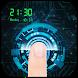 High-tech Fingerprint Lock Screen (Joke)
