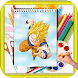 How To Draw Dragon Ball Z Characters Step By Step by kids color