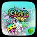 OMG GO Keyboard Theme by Jiubang