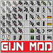 Guns mod for Minecraft by vPro INC