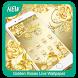 Golden Roses Live Wallpaper by ILogic