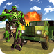 Army Truck Transform Robot Wars