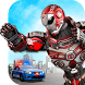 Police Flying Robot 3D: City Hero Transform Wars by PlatTuo