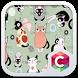 Cute Kitty Theme C Launcher by Pop Locker Team - Hide Secret App